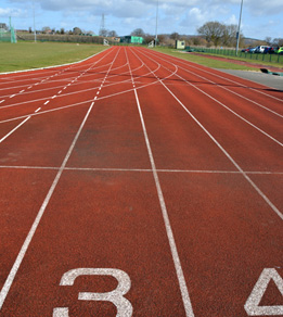 London Road Sports Centre Athletics Track